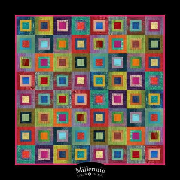 Millennio foulard 39 arte for Foulard per divani